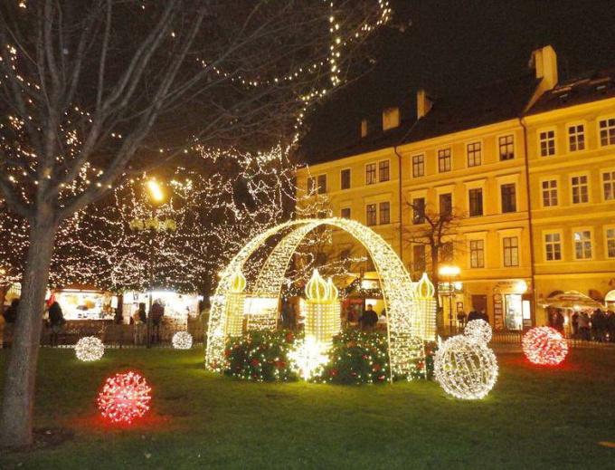 Как провести новогодние праздники в Праге