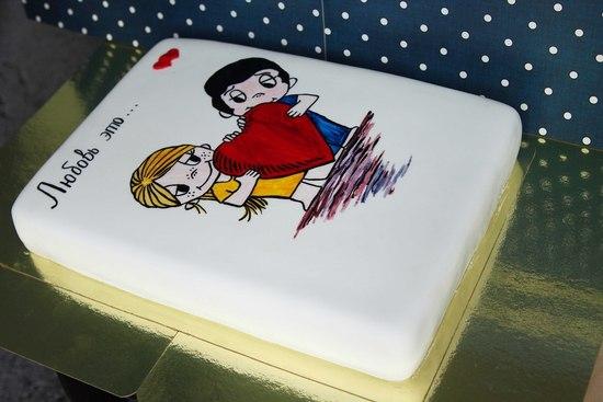 """Готовим торт """"Love is..."""""""