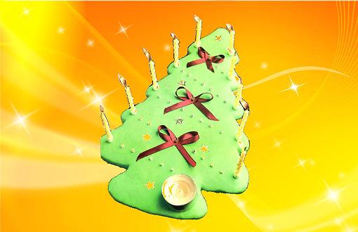 Пирог «Рождественская елочка»