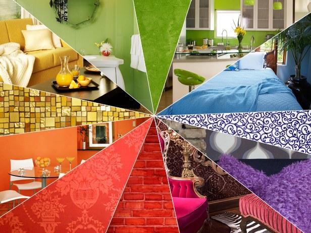 Цветовое решение комнат