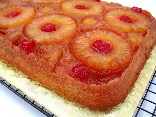Ананасовый пирог перевертыш