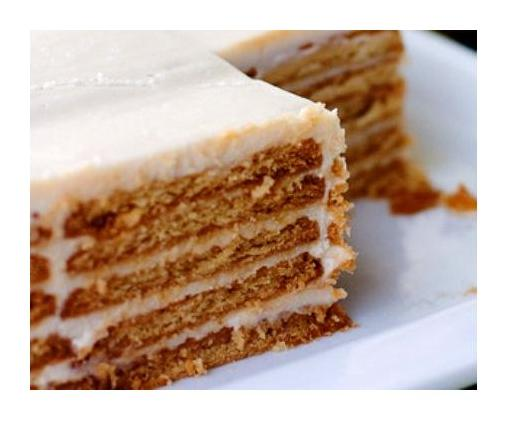 Торт из печенья очень быстро и просто