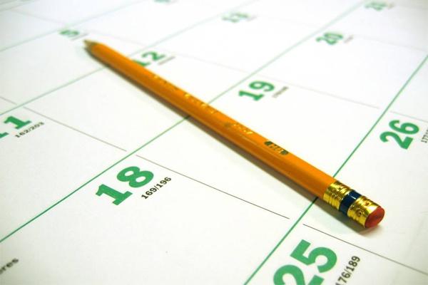 Календарь выходных и праздников 2015 года