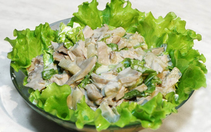 The chicken salad and the Peking cabbage 3 best recipe