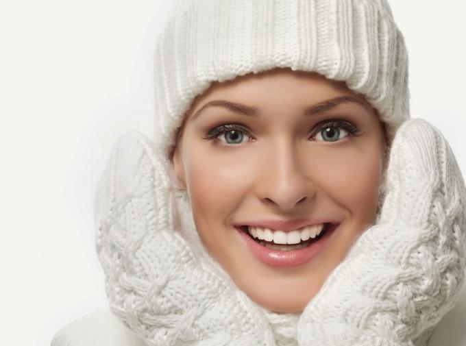 Face care in winter