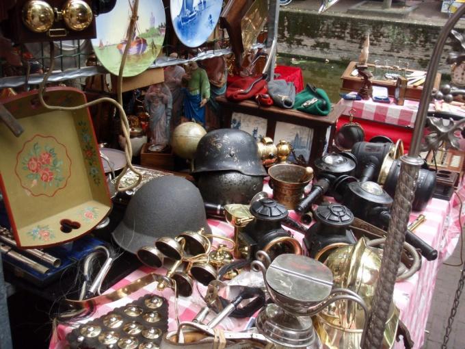 Немецкие блошиные рынки, или фломаркты