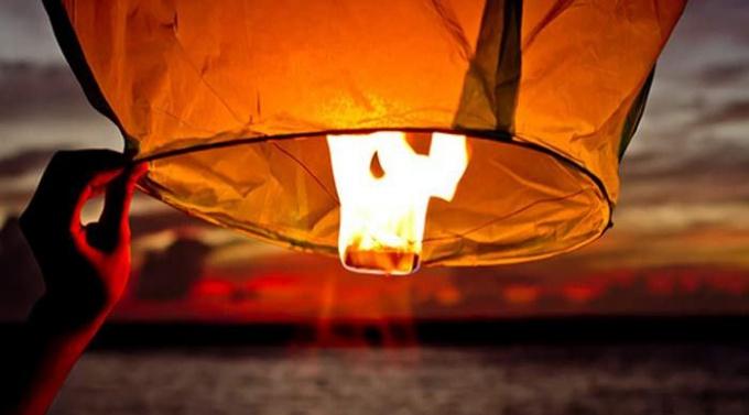 Как сделать небесный фонарик своими руками