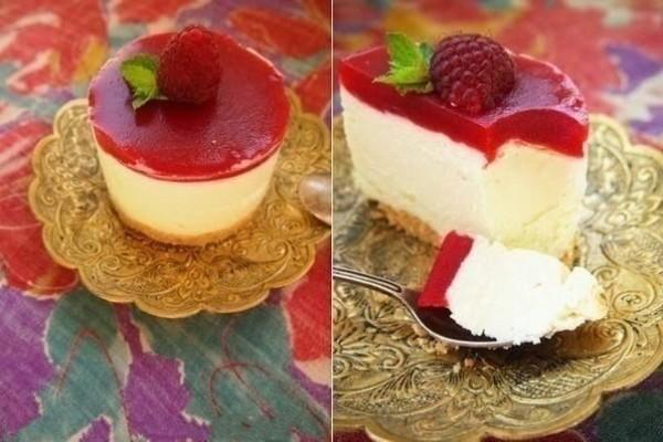 Творожное пирожное без выпечки