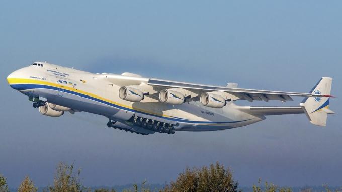 Мрия самый большой самолет