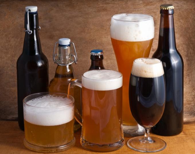 Какие существуют сорта пива
