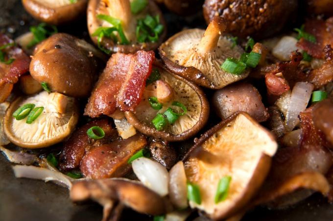 Что приготовить с грибами шиитаке