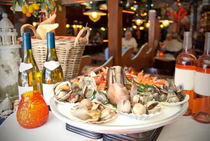 Какие вина сочетаются с морепродуктами