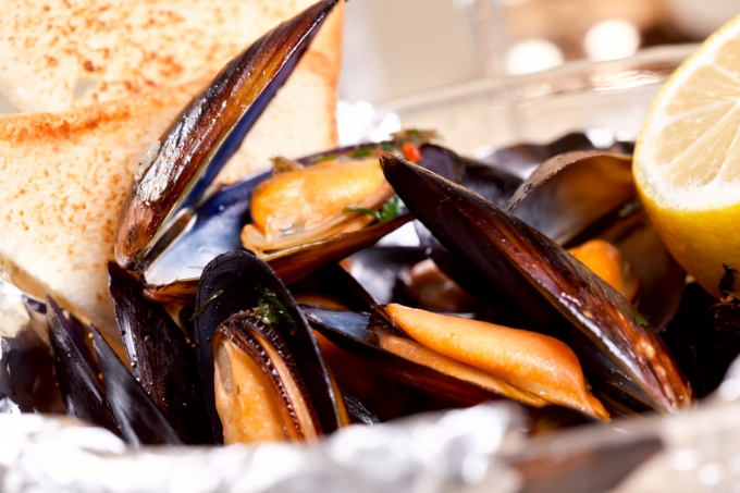 How to cook mussels in shells