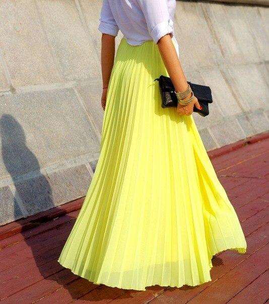 Прежде, чем купить длинную юбку