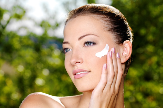 How much face cream need skin