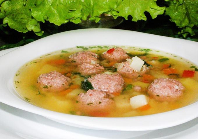 фрикадельки для супа рецепт с фото