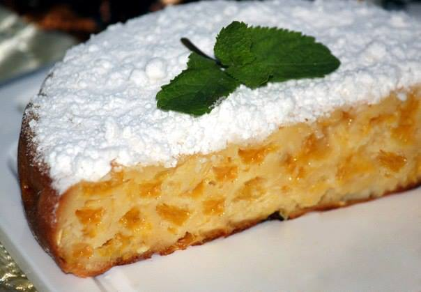 Как приготовить апельсиновый пирог в мультиварке