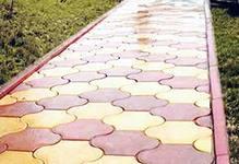 Как самому изготовить тротуарную плитку