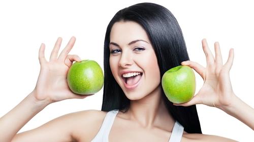 Яблочная маска для рук