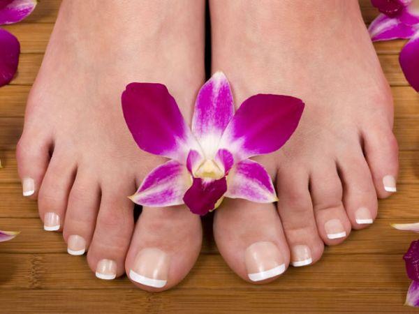 Уксусные ванночки для ног