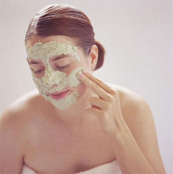 Персиковая маска для сухой кожи лица