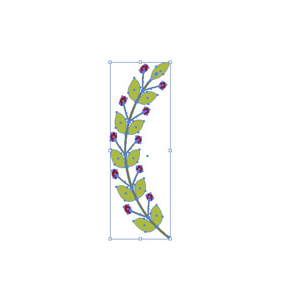 Как создать венок в Adobe Illustrator