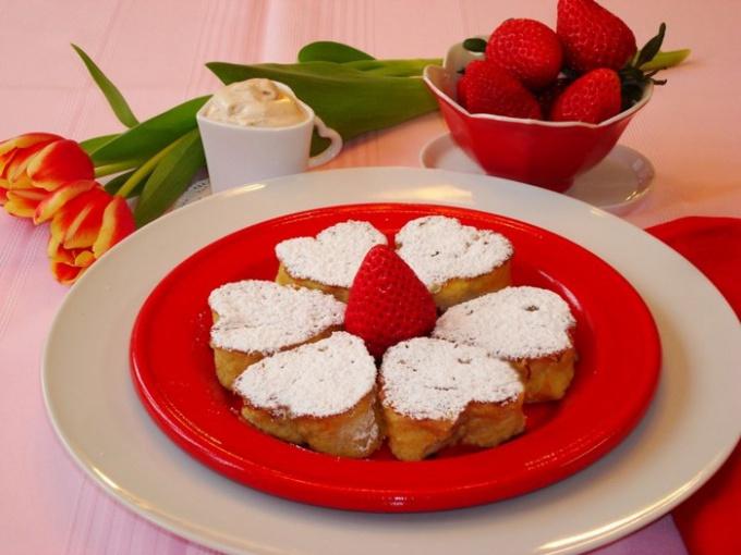 Как приготовить быстрый завтрак ко Дню Святого Валентина