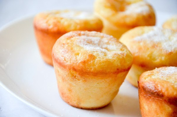 Кексы творожные в формочках рецепты с фото пошагово