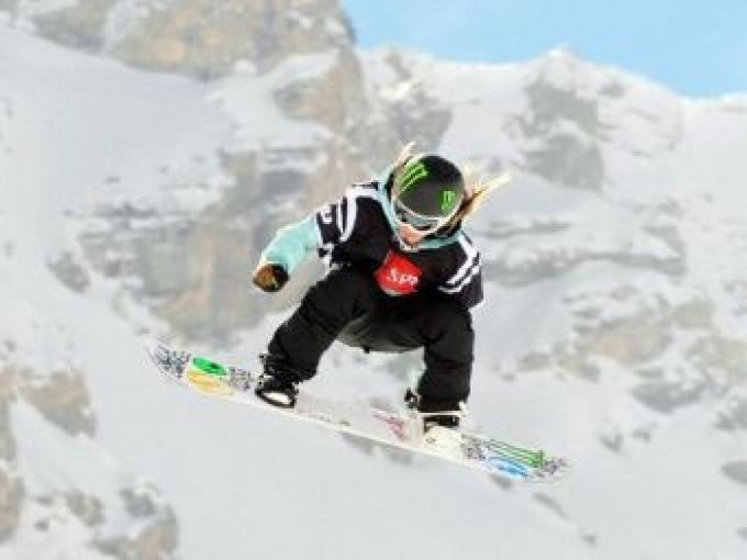 Новый вид в сноуборде