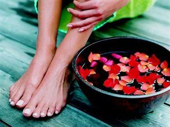 Ванночки для ног с травами