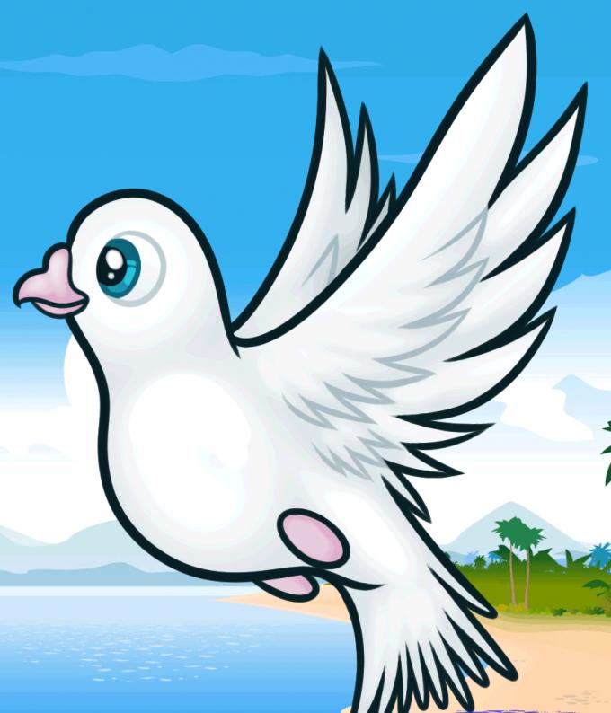голубь для детей