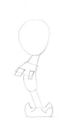 Как нарисовать Сквидварда поэтапно