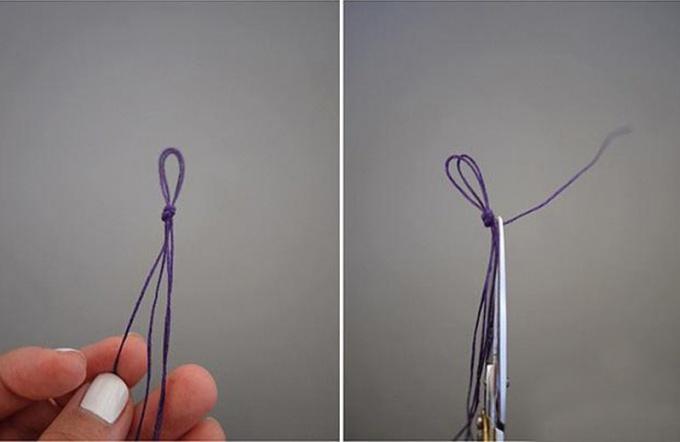 Как сделать браслет из ниток и бисера