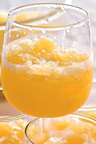 Цитрусовый пунш с шампанским