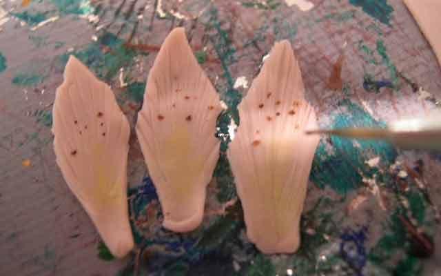 Как сделать лилию из полимерной глины
