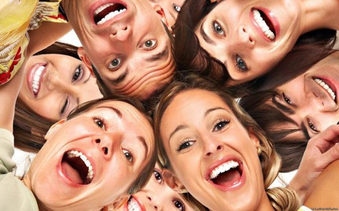 Несколько поводов улыбнуться или о пользе смеха для здоровья.