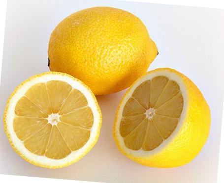 Маска с лимонным соком