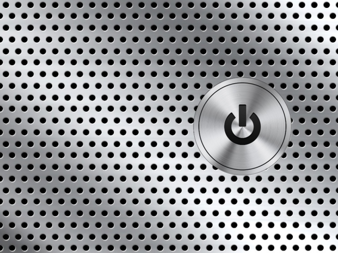 Кнопка компьютера