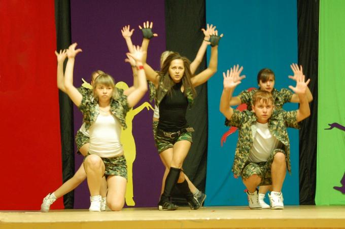 Как поставить танец для группы
