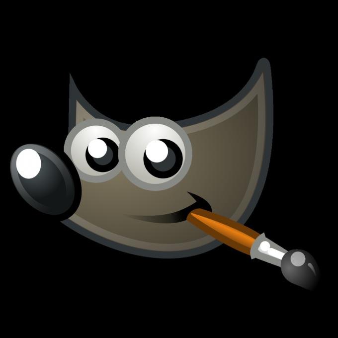 Логотип графического редактора GIMP