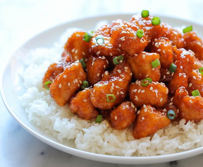 Как запечь кусочки курицы в азиатском стиле