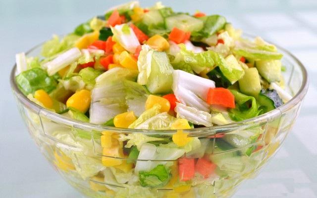 Фото и рецепт салатов без майонеза
