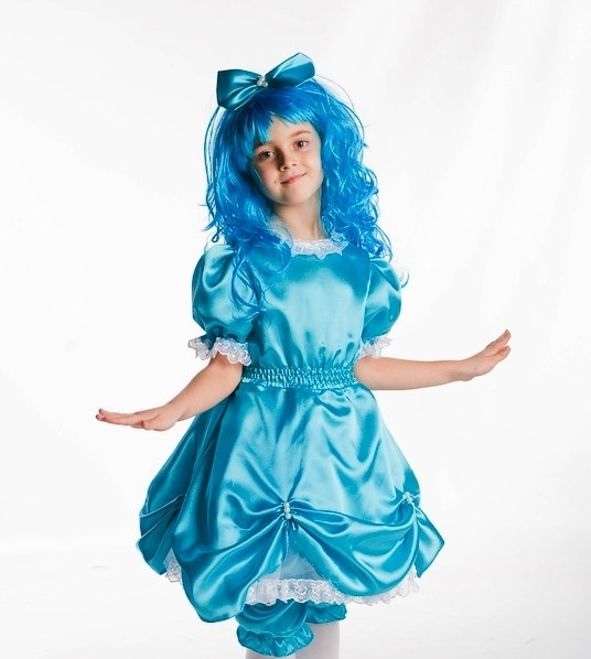 Как сделать карнавальный костюм Мальвины