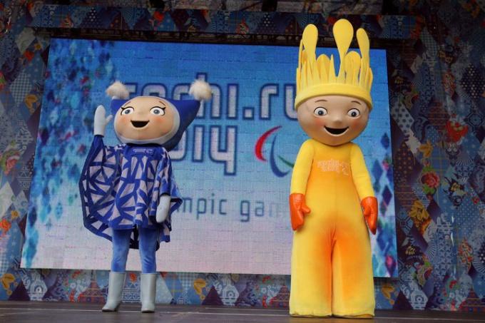 Талисманы Паралимпийских игр в Сочи-2014