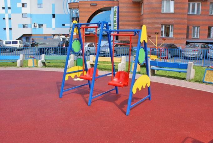 Как выбрать качели для ребенка во двор