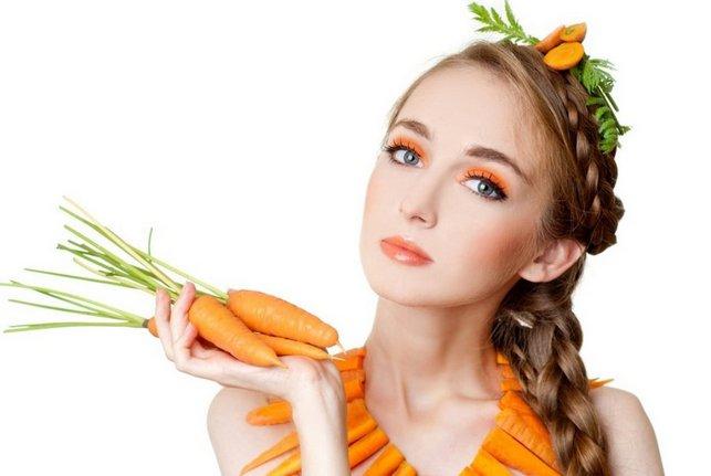 Морковная маска для жирной кожи