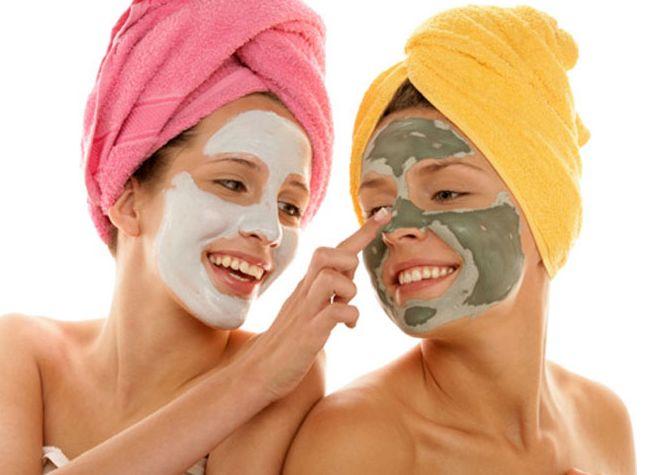 Цветная маска для лица