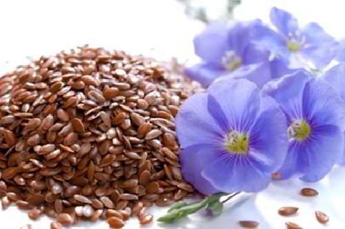 Маски с маслом из семени льна