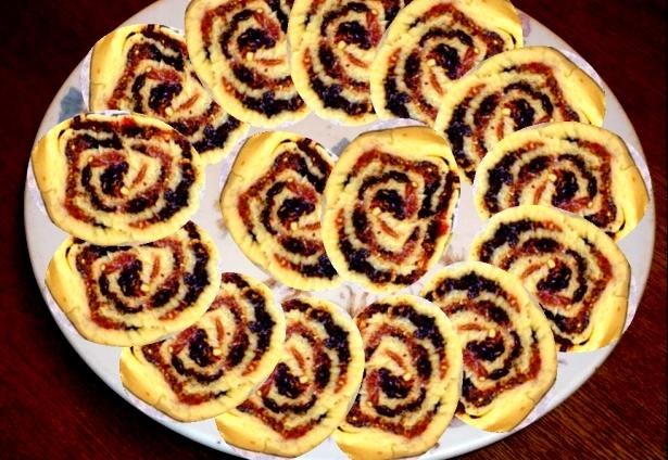 Как испечь итальянское печенье джирасоли