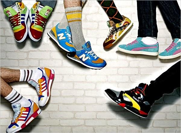Как появились первые кроссовки